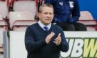Inverness CT head coach Billy Dodds.