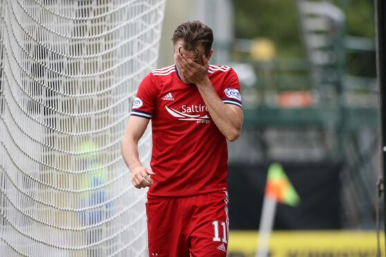 Ryan Hedges was frustrated following another defeat for the Dons.