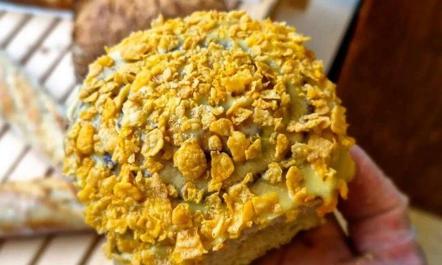 The pumpkin spice bun.