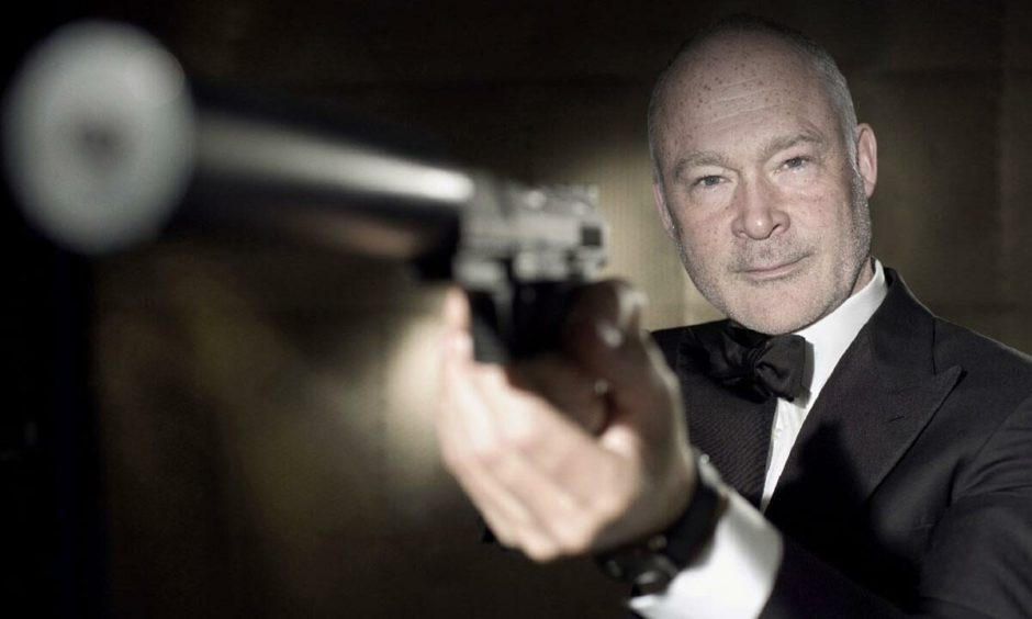 How Ewan Stewart might have looked as James Bond.