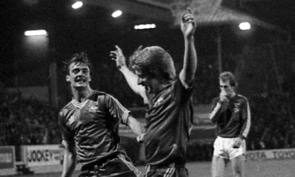 Aberdeen knocked reigning champions Ipswich out of the Uefa Cup in 1981.