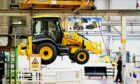 JCB is ramping up production at its factories to meet increased customer demand.