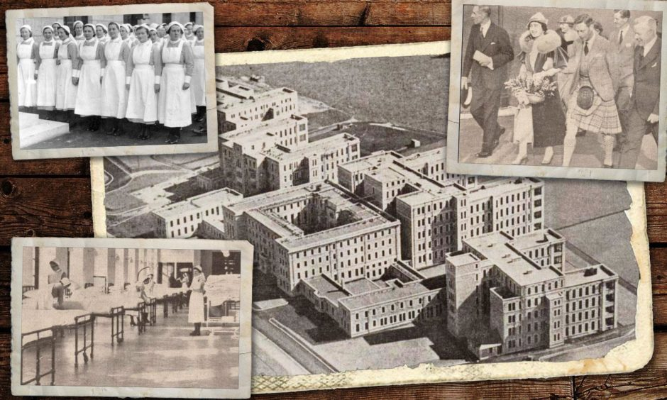 Aberdeen Royal Infirmary opened on this day 85 years ago.