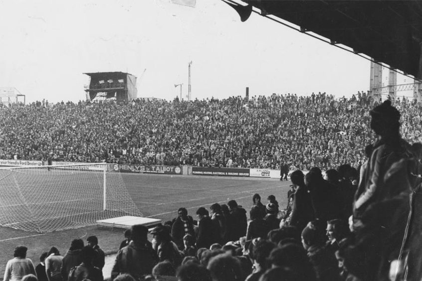 Pittodrie South Stand