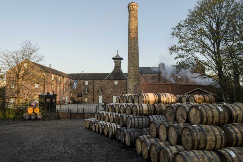 whisky distiller day in Scotland