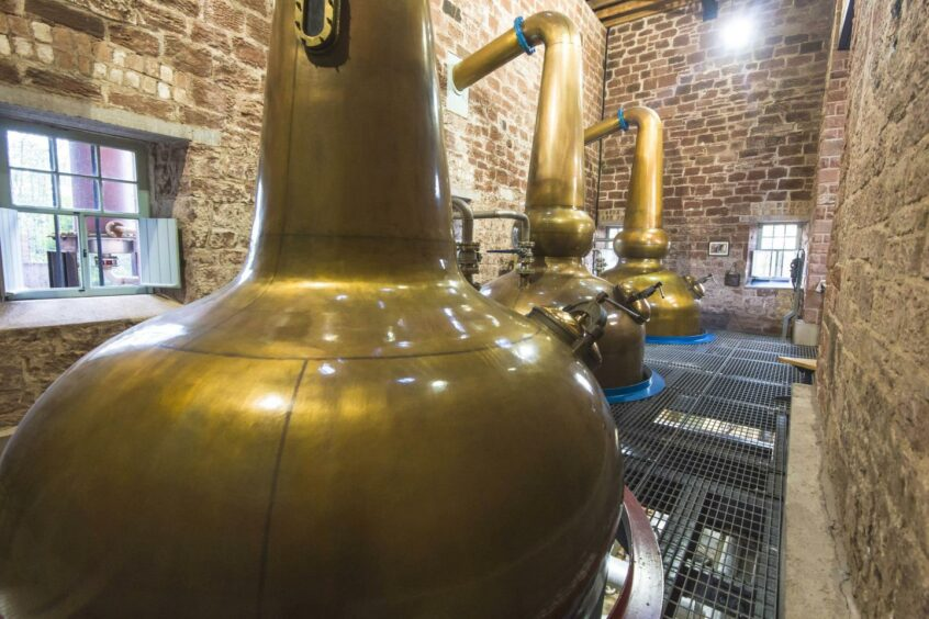 Behind the scenes at Annandale Distillery