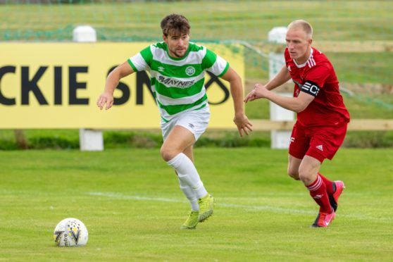 Sam Urquhart was on target for Buckie Thistle.