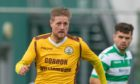 Robbie Duncanson was on target for Forres Mechanics.
