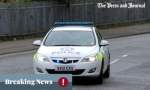 A section of A816 has been closed due to a serious crash.