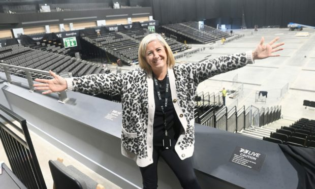 Louise Stewart of P&J Live is getting ready to welcome global superstars - and north-east audiences - back to the Aberdeen venue.