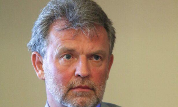 Caley Thistle chairman Ross Morrison.