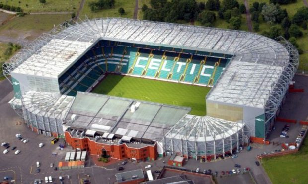 Dundee United will have to take on Celtic at Parkhead with no away fans in attendance.