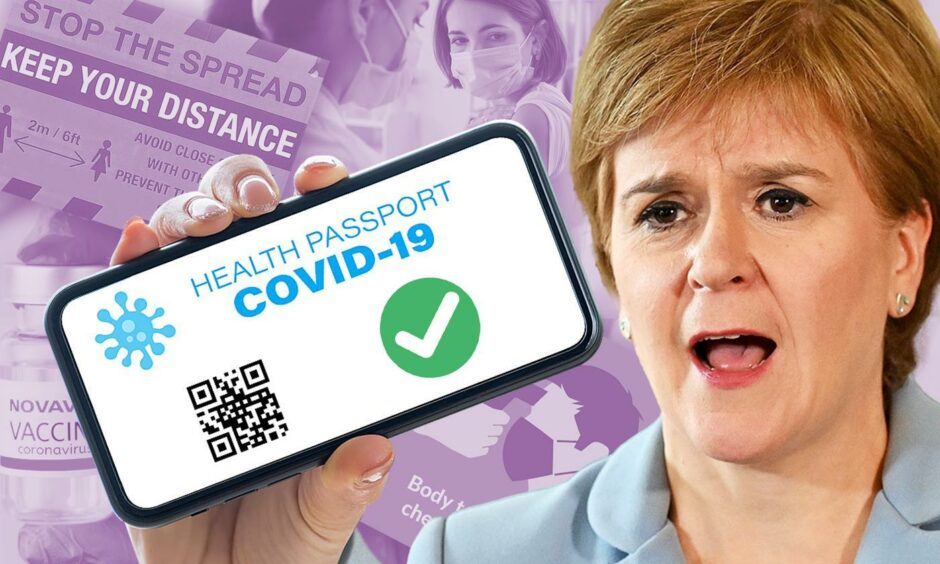 Vaccine passports in Scotland