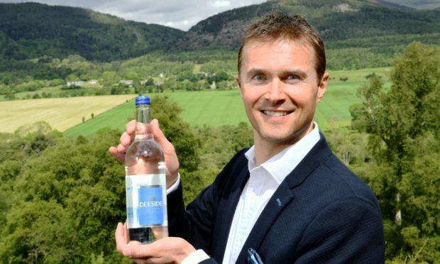 Deeside Water Company managing director Martin Simpson.