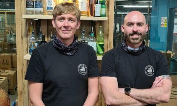 L-R Fraser Graham & Dave Smith.