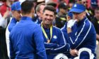 Team Europe captain Padraig Harrington during the second preview day of the 43rd Ryder Cup at Whistling Straits