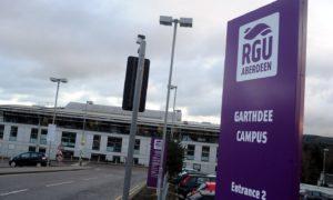 Robert Gordon University in Aberdeen.