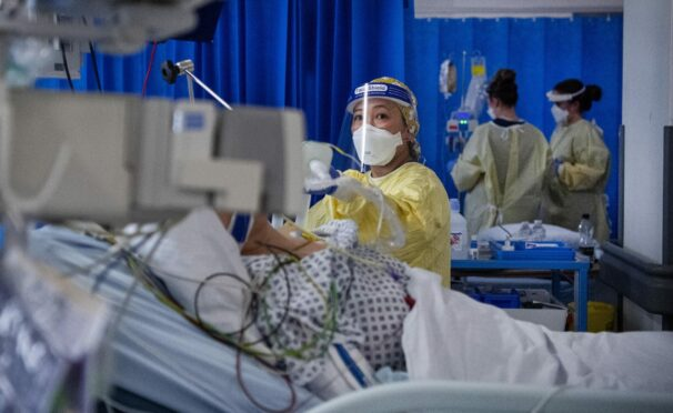The majority of coronavirus deaths took place in hospitals across Scotland
