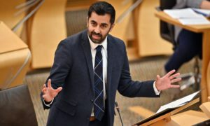 Humza Yousaf has dismissed suggestions of setting up field hospitals in Scotland.