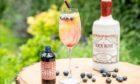 Rock Rose Gin cocktail.