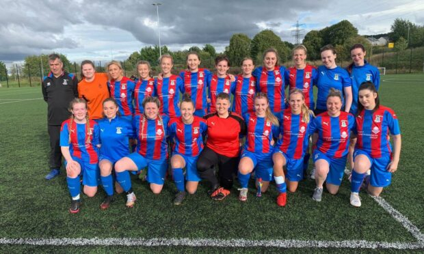 Caley Thistle Women's Development team are the Highlands and Islands League champions.