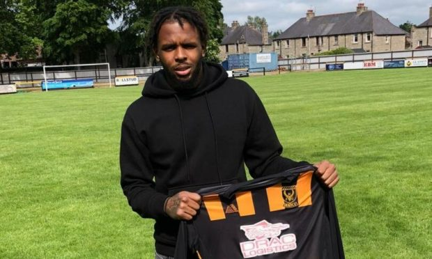 Caiden Imbert-Thomas scored on his Scottish Cup debut.