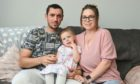 Mum Danielle Beaton, husband Michael Beaton and daughter Anna Beaton who was conceived previously through successful IVF treatment. Pictures by Jason Hedges.