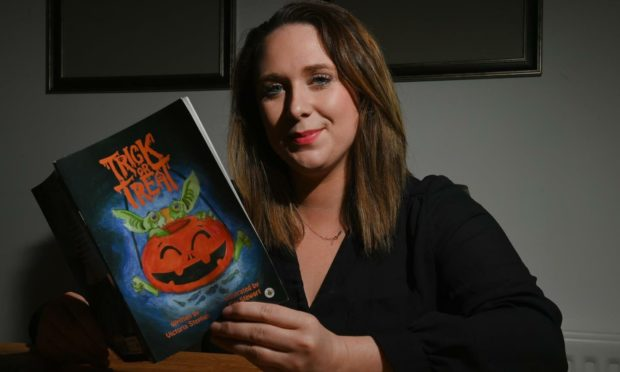 Victoria Stephen wrote her children's book Trick or Treat during lockdown