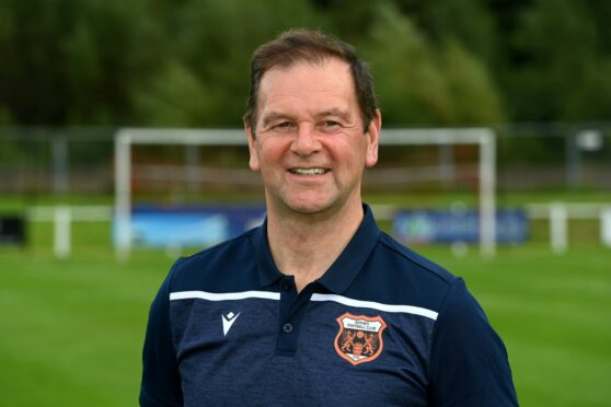 Rothes boss Ross Jack.