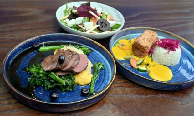 A selection of dishes from No.1 Bar & Grill.