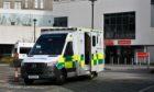 An ambulance outside ARI