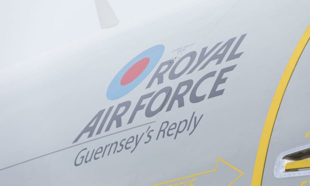 Guernsey's Reply has arrived at RAF Lossiemouth. Photo: RAF Lossiemouth