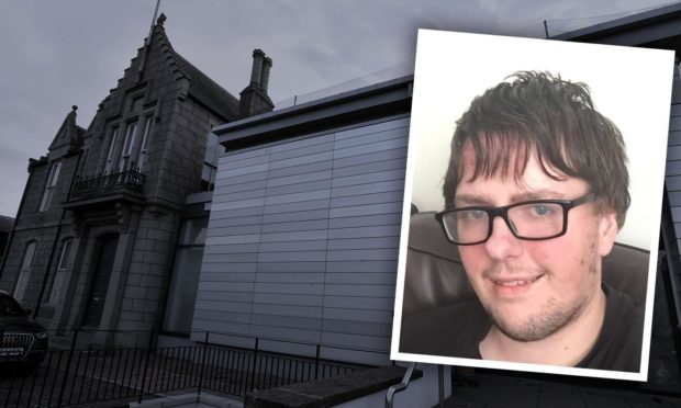 Marc Milne appeared at Peterhead Sheriff Court.