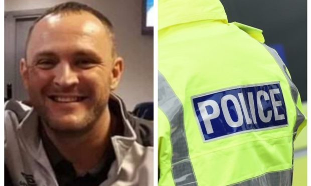 Dean Lockhart has been reported missing. Photo: Police Scotland
