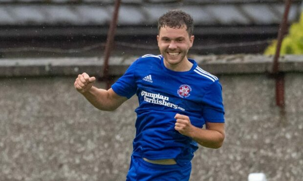 Lossiemouth's Ryan Stuart is hoping they can get through in the Scottish Cup