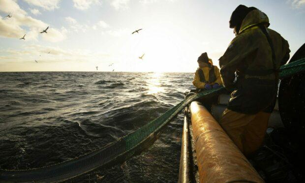 Haddock fishermen in Peterhead. Photo by Nigel Millard.