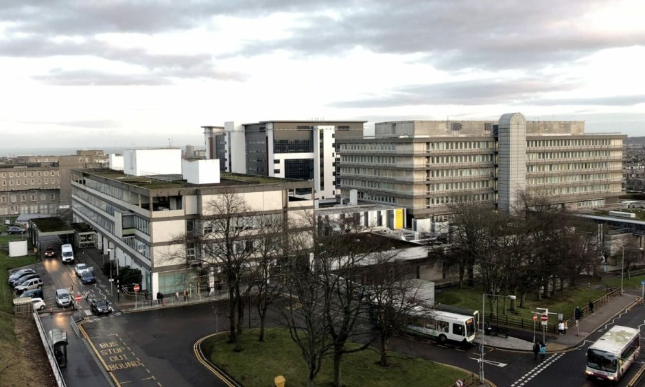 NHS Grampian warned of pressures on front line staff and hospital capacity this month.