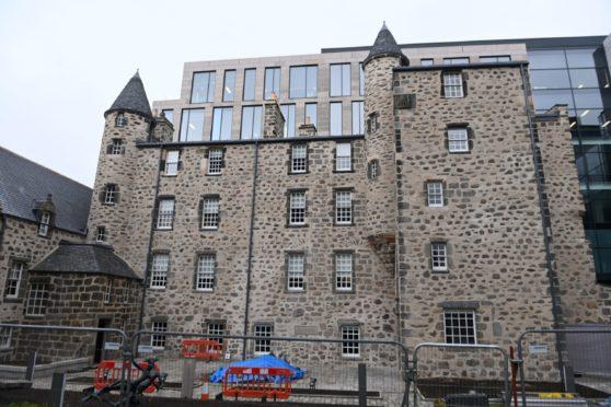Provost Skene's House has been undergoing an extensive refurbishment.