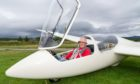 The sky is the limit for glider Phil Hawkins.