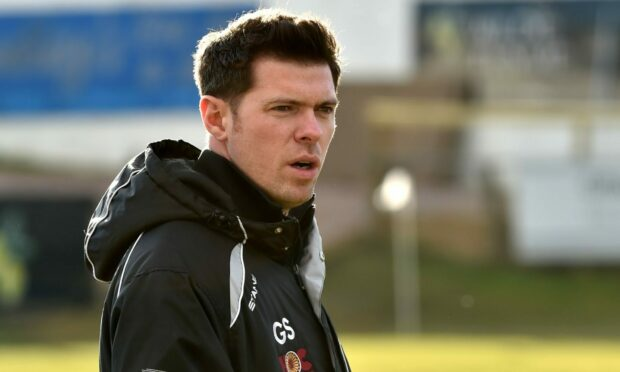 Buckie manager Graeme Stewart hopes they can get the better of Brechin