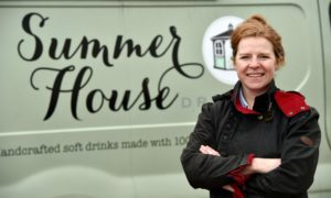 Claire Rennie, whose businesses - like many others - have suffered a summer of shortages.