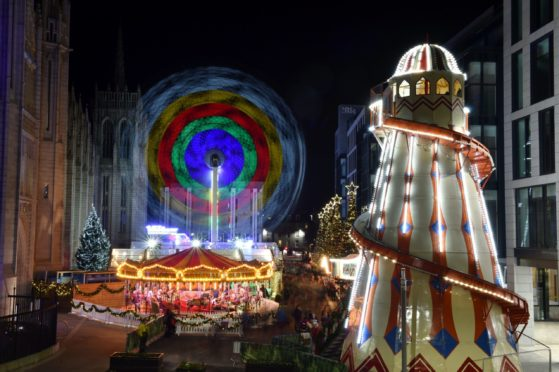 Aberdeen Christmas Village could be set to return to Broad Street this year.