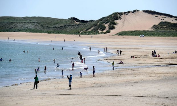 Fraserburgh could enjoy the best of the UK's weather today. Photo: DCT Media