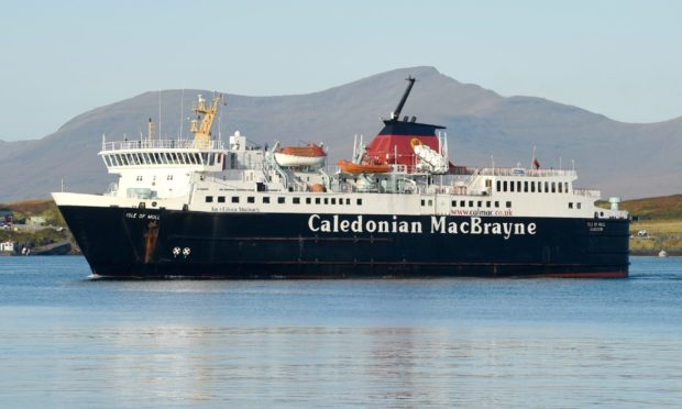 CalMac ferry. Picture by Sandy McCook.