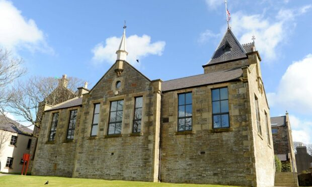 Orkney Islands Council headquarters, Kirkwall.
