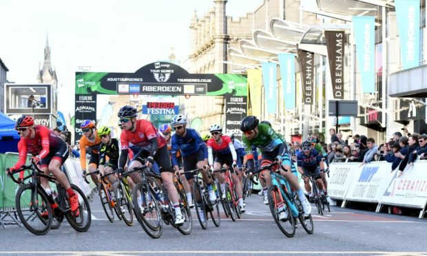 The Tour of Britain cycle race will arrive in Aberdeen on Sunday September 12.