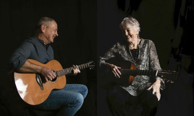 Folk legend Peggy Seeger and her son Calum MacColl raise the curtain next Friday night with a concert at St Margaret's Braemar