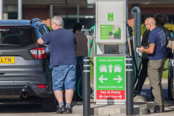 Petrol pumps were running dry... but just whose fault was that? (Photo: Steve MacDougall/DCT Media