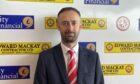 Brora Rangers chairman Scott Mackay Picture courtesy of Brora Rangers FC