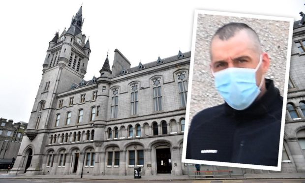 Sean Carbo appeared at Aberdeen Sheriff Court.